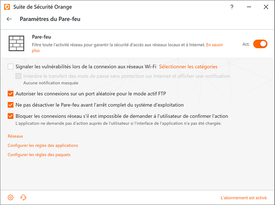 antivirus securitoo orange