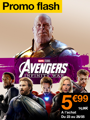 Promo Flash Avengers : Infinity War