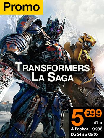 Promo Saga Transformers