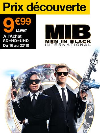 Prix  Découverte : Men in Black : International