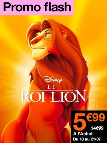 Promo flash Le roi lion