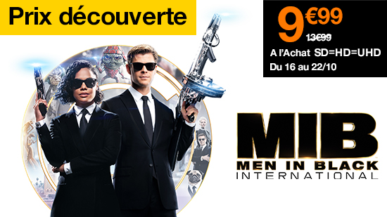Prix  Découverte : Men in Black : International