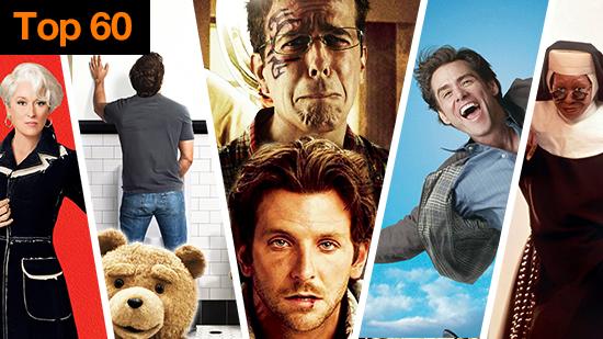 Top 60 comédies US