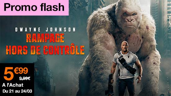 Promo flash Rampage : hors de contrôle