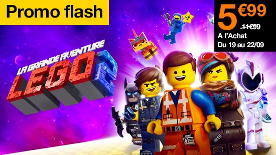 Promo Flash La grande aventure Lego 2