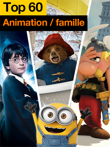 Top 60 animation/famille