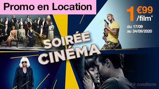 Soirée Cinéma : Location