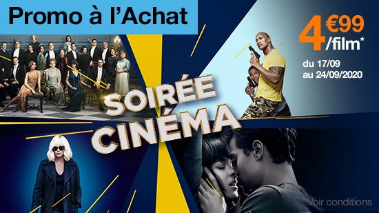 Soirée Cinéma : Achat