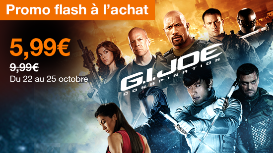 Promo Flash : G.I. Joe : conspiration