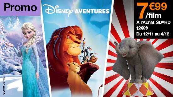 Promo Disney aventures