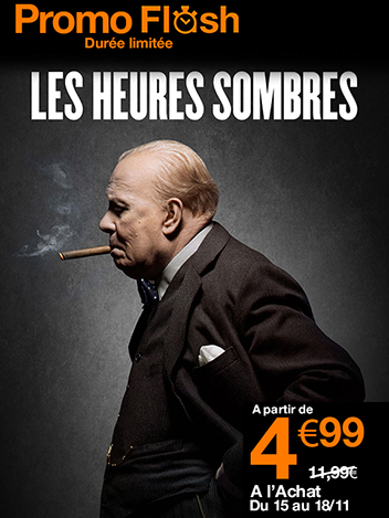 Promo Flash Les heures sombres