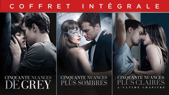 Collection Cinquante nuances de Grey