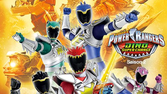 Power Rangers : Dino super charge - S02