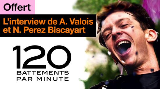 120 battements par minute : interview de Arnaud Valois et Nahuel Perez Biscayart