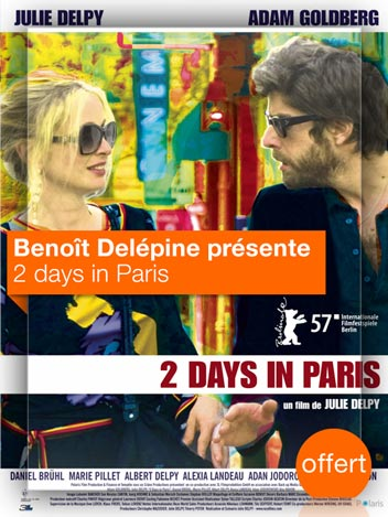 2 days in Paris vu par Benoît Delépine