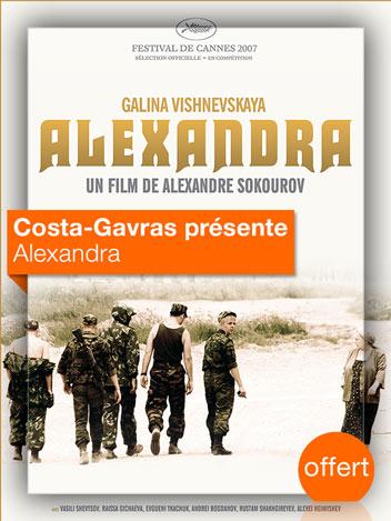 Alexandra vu par Costa-Gavras