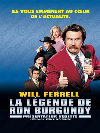 Présentateur vedette : la légende de Ron Burgundy