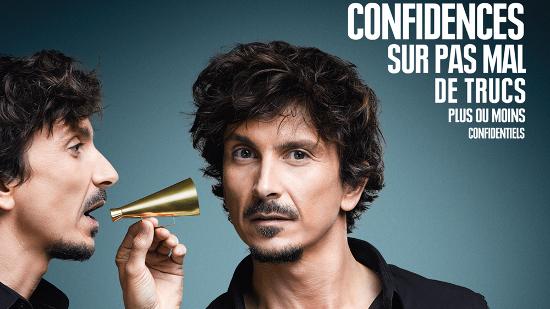 Arnaud Tsamère - Confidences sur pas mal de trucs plus ou moins confidentiels