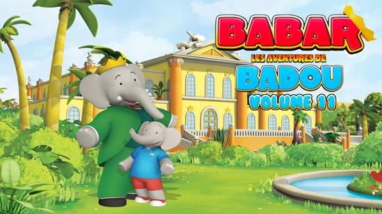 Babar : Les aventures de Badou - Volume 11