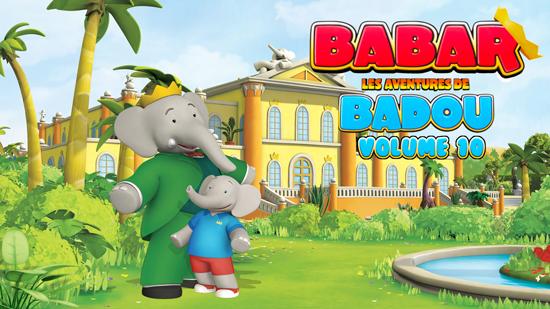 Babar : Les aventures de Badou - Volume 10