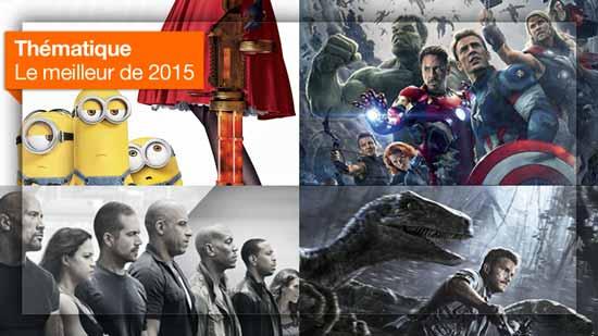 Bande-annonce : le meilleur de 2015