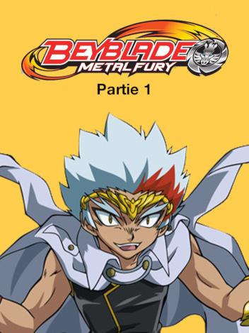 Beyblade Metal Fury - partie 1