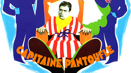 Capitaine pantoufle