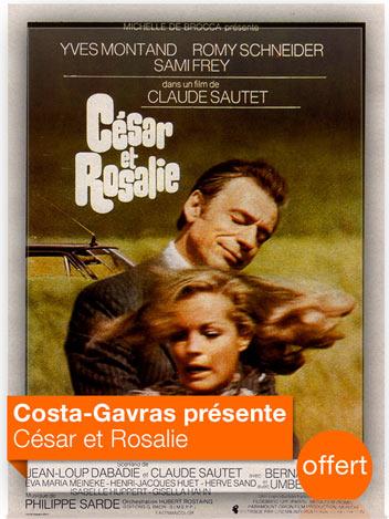 César et Rosalie vu par Costa-Gavras