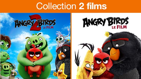 Collection Angry Birds 1 et 2