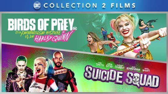 Collection Birds of Prey et Suicide Squad