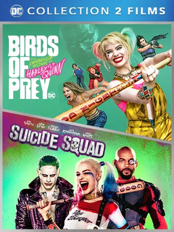 Collection Birds of Prey et Suicide Squad