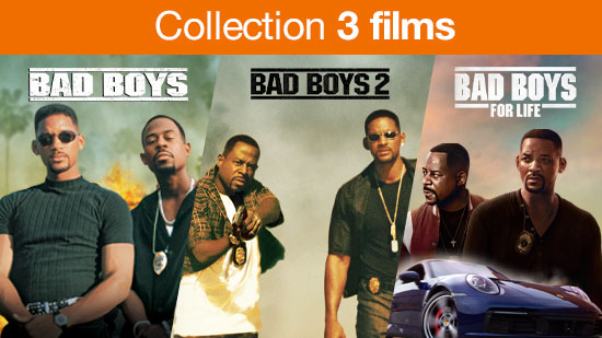 Collection Bad Boys - 3 films