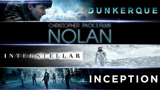 Collection Christopher Nolan 3
