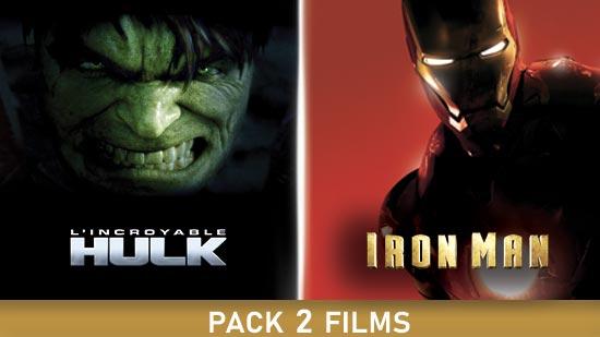Collection Hulk et Iron Man