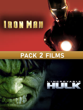 Collection Hulk et Iron Man