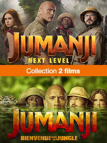 Collection Jumanji : next level - Jumanji : bienvenue dans la jungle - éditions spéciales