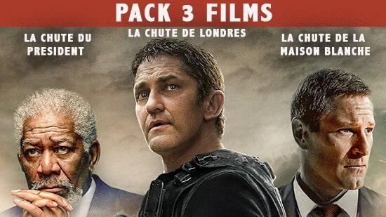 Collection La chute trilogie