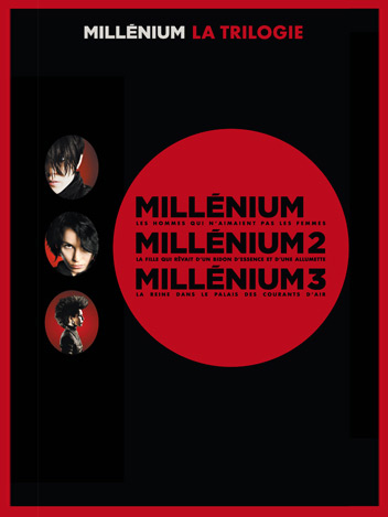 Collection Millenium la trilogie