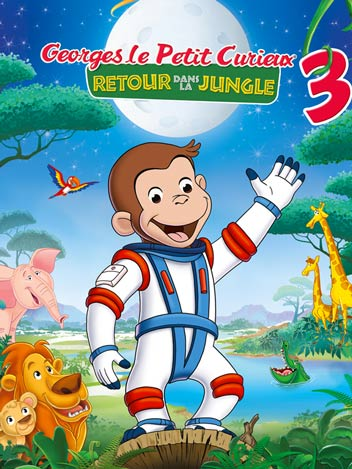 Curious George 3 : back to the jungle