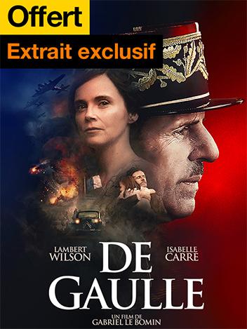 De Gaulle - extrait exclusif offert