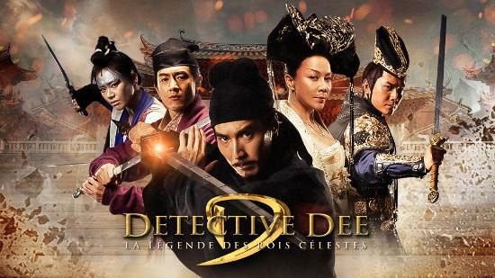 Detective Dee III : la légende des rois célestes
