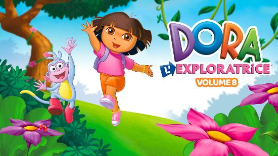 Dora l'exploratrice - Volume 08