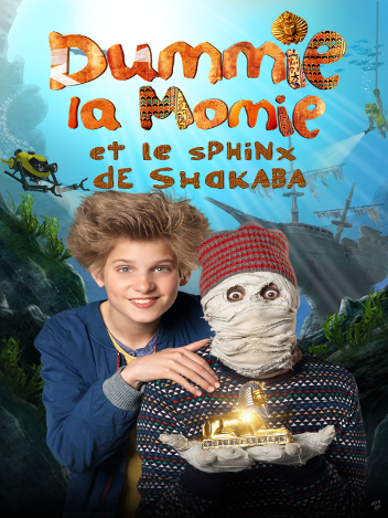 Dummie la momie et le sphinx de Shakaba