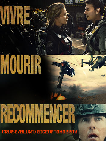 Vivre, mourir, recommencer : Edge of tomorrow