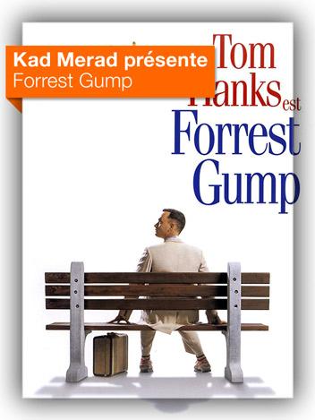 Forrest Gump vu par Kad Merad