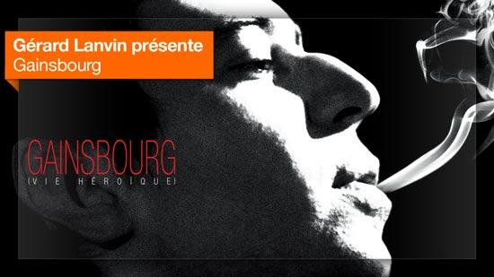 Gainsbourg (Une vie héroïque) vu par Gérard Lanvin