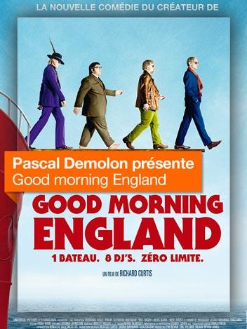 Good Morning England vu par Pascal Demolon