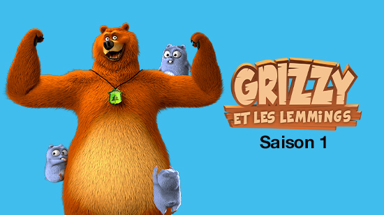 Grizzy et les Lemmings - S01