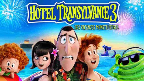 Hotel Transylvanie 3: des vacances monstrueuses