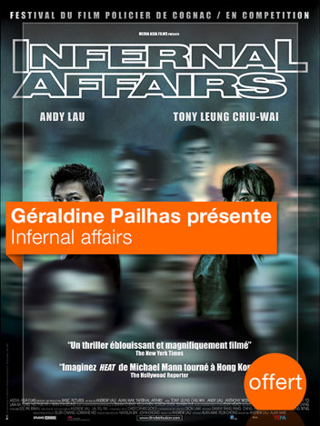 Infernal Affairs vu par Géraldine Pailhas